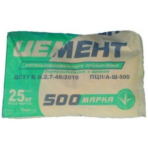 """Цемент М500 """"Торгбуд"""""""