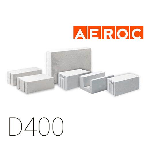 Газобетон Aeroc D400 (Обухів)
