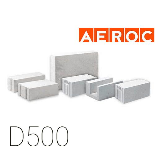 Газобетон Aeroc D500 (Березань)