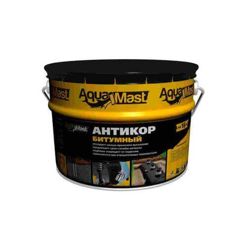 Антикор битумный AquaMast 16 кг