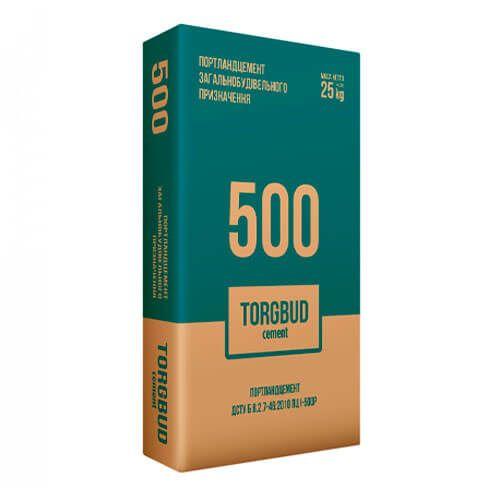 Цемент М500 Д0 (25 кг) Фомальгаут-Полімін