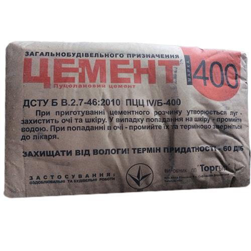 """Цемент М 400 ( 25 кг ), """"Торгбуд"""""""