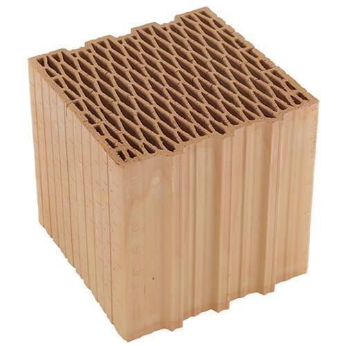 Керамический блок Heluz Family 25 шлифованный (247x250x249)