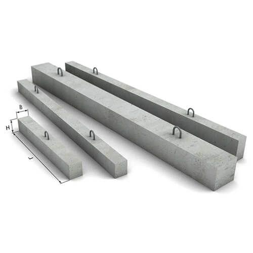 Перемычка брусковая 3ПБ 16-37-П (бетонная, железобетонная)