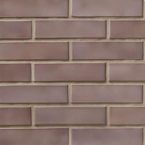Кирпич СБК половинка глазурованный коричневый