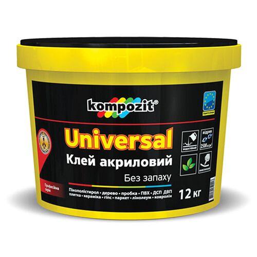 Клей акриловый UNIVERSAL Kompozit, 12 кг