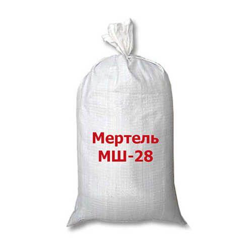 Мертель шамотный МШ-28 (огнеупорная смесь)