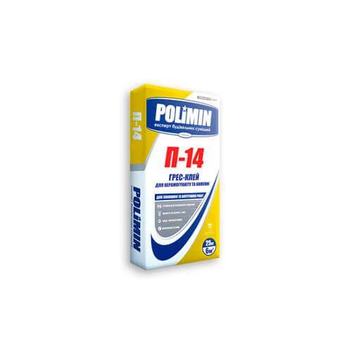 Полімін П-14 ГРЕС-клей для плитки і каменю