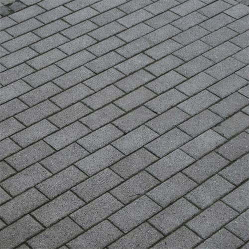 Тротуарная плитка-кирпич Бисер (200х100х60) Золотой Мандарин