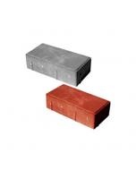 Тротуарная плитка-кирпич (200х100х40,60,80) Золотой Мандарин