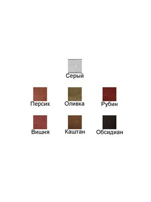Плитка Юнигран, Обсидиан, Гамма стандарт 6 см