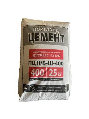 Цемент ПЦ ІІ / Б-Ш 400 Івано-Франківськ 25 кг