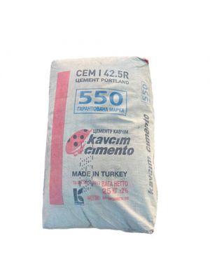 Портландцемент турецький KAVCIM марки М 550 СЕМ І 42,5R