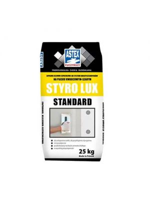 Astex Styro lux белый клей для теплоизоляции