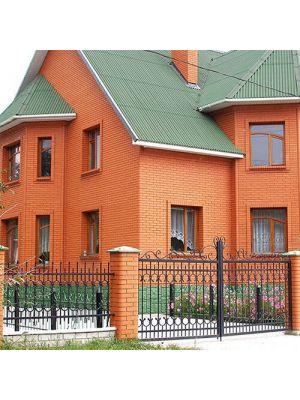 Кирпич М-150 Белая-Церковь персик рядовой дом