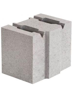 Бетонный блок стеновой 130х190х188 Ковальская