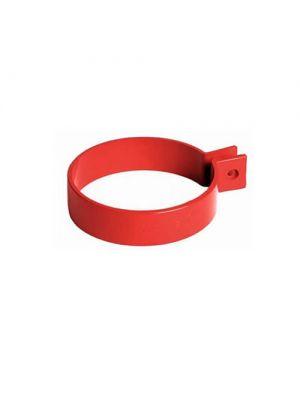 Bryza 125 Хомут труби червоний