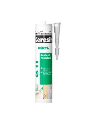 Герметик акриловый Ceresit Acryl CS-11белий 280 мл