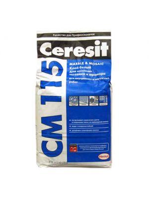Ceresit СМ 115 Mosaic & Marble Клеящая смесь 25 кг
