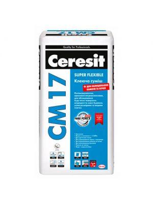 Ceresit СМ 17 Super Flexible Клеящая смесь 25 кг