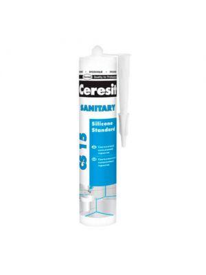 Герметик санитарный прозрачный Ceresit Sanitary CS 15, 280 мл