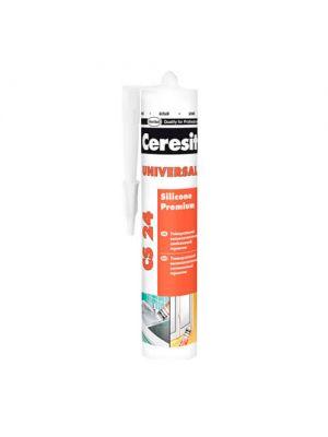 Герметик силиконовый универсальный Ceresit Universal CS 24 280 мл (белый)