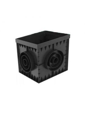 Дождеприемник ДП–30.30-ПП PolyMax Basic пластиковый черный