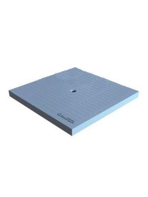 Крышка к дождеприемнику К-28.28-ПП PolyMax Basic пластиковая серая