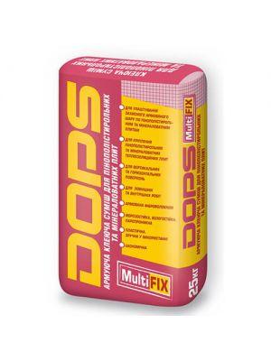 Dops Multifix Армуюча клейова суміш для пінополістирольних і мінераловатних плит