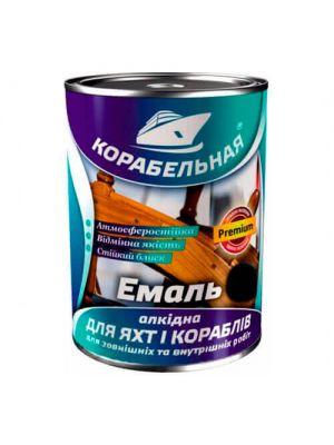 Эмаль алкидная Корабельная черная 2,8 кг (краска ПФ-115)