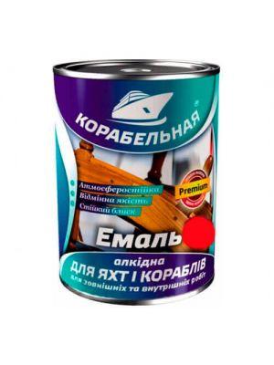 Эмаль алкидная Корабельная красная 2,8 кг (краска ПФ-115)