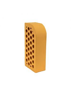 Кирпич фасонный Желтый Евротон (клинкерный) ВФ-5