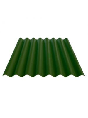 Безасбестовый шифер Fibrodah Renaissance 1000х1130х5,8 мм зеленый