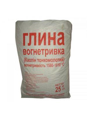 Глина огнеупорная ПГОСА класс А 25 кг