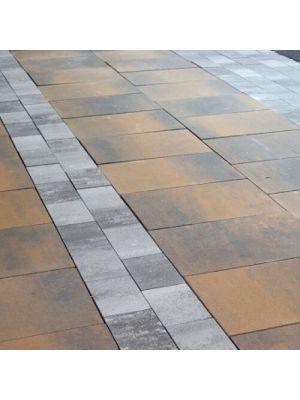 Тротуарная плитка Монолит Леванто 80мм Золотой Мандарин