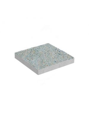 Тротуарная плитка Плита 400х400х60мм аурум-грин меланж Золотой Мандарин