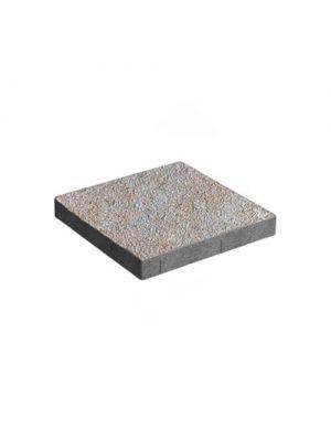 Тротуарная плитка Плита 400х400х60мм аурум меланж Золотой Мандарин