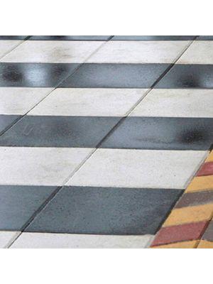 Тротуарная плитка Плита 400х400х60мм без фаски черная Золотой Мандарин