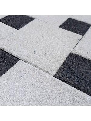 Тротуарная плитка Плита 400х400х60мм бланко меланж Золотой Мандарин