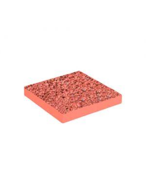 Тротуарная плитка Плита 400х400х60мм корал меланж Золотой Мандарин