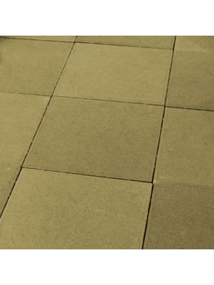 Тротуарная плитка Плита 400х400х60мм без фаски горчичная Золотой Мандарин