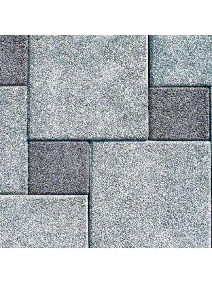 Тротуарная плитка Плита 400х400х60мм грин меланж Золотой Мандарин
