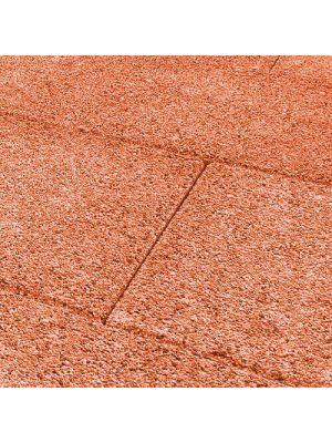Тротуарная плитка Плита 400х400х60мм оранж меланж Золотой Мандарин