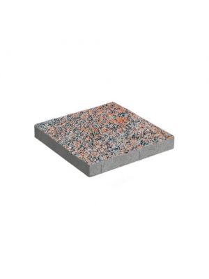 Тротуарная плитка Плита 400х400х60мм без фаски ориджио-визе Золотой Мандарин