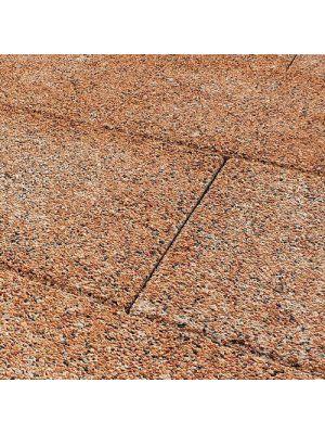 Тротуарная плитка Плита 400х400х60мм шафран меланж Золотой Мандарин