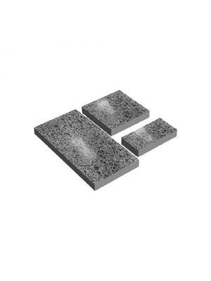 Плита полірована бетонна 590х290х60мм Золотий Мандарин