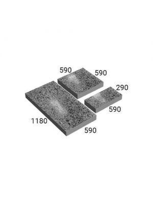 Плита полированная бетонная 1180х590х60мм Золотой Мандарин