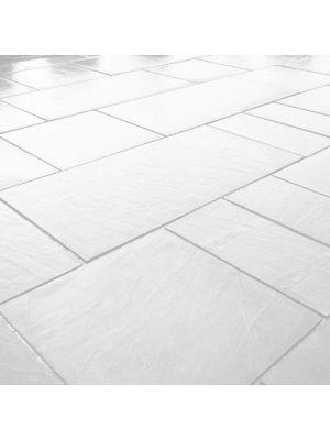 Тротуарна плитка Гранд Кив під природний камінь 590х290х60мм бьянко Золотий Мандарин