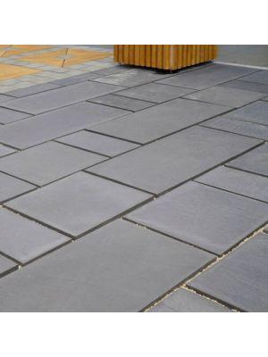 Тротуарна плитка Гранд Кив під природний камінь 590х590х60мм Золотий Мандарин