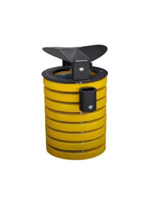 Урна Колор 560 желтая Золотой Мандарин